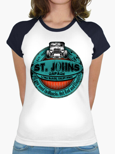 Tee-shirt st johns bleu