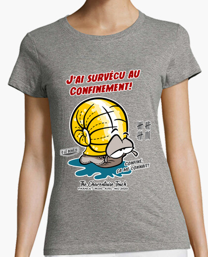 Tee-shirt Survécu au Confinement