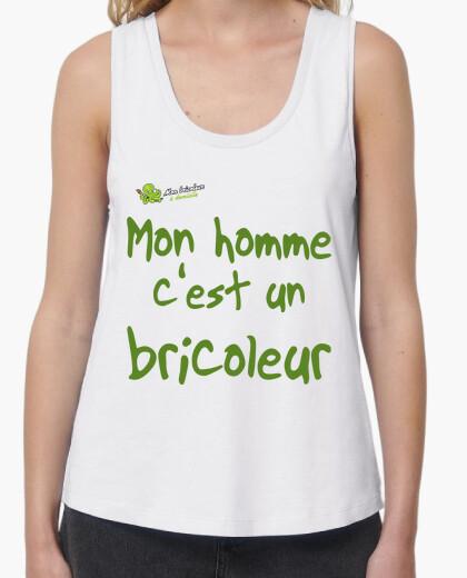 Tee-shirt T-shirt femme sans manches,...