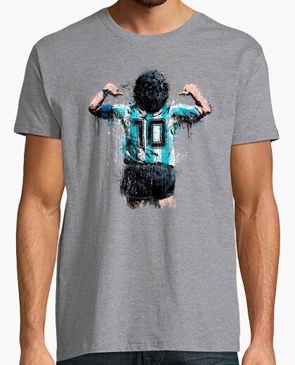 Tee-shirt t-shirt garçon maradona 10