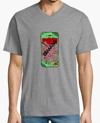 Tee-shirt t-shirt zombiephone pic