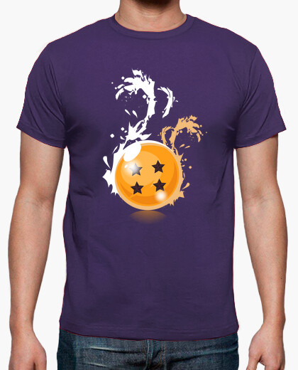 Tee-shirt t billes 4 étoiles noires