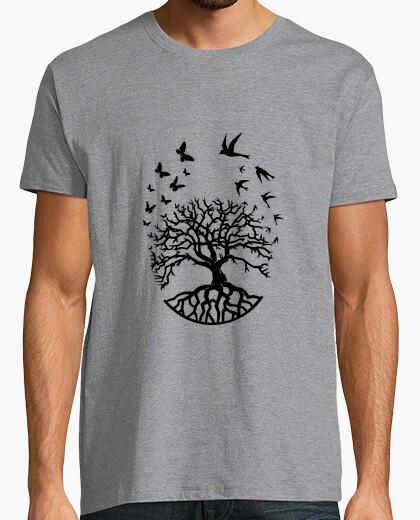 Tee-shirt t shirt arbre vie homme sagesse...
