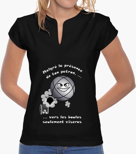 Tee-shirt t shirt petanque patron FS mao