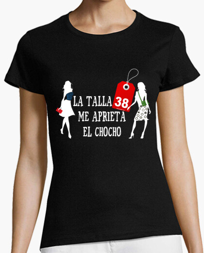 Tee-shirt taille 38 comprime ma chatte (noir)