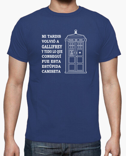 Tee-shirt tardis - gallifrey