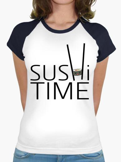 Tee-shirt temps de sushi