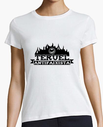 Tee-shirt teruel antifaixista