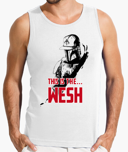 Tee-shirt This is the wesh MH
