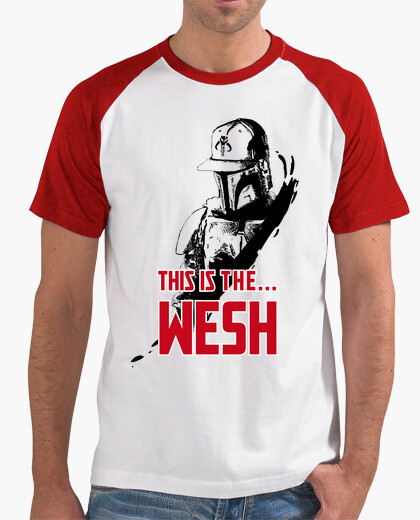 Tee-shirt This is the wesh TsR rouge