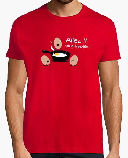Tee-shirt Tous à la poêle