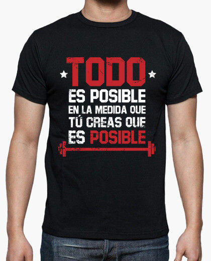 Tee-shirt tout est possible (homme)