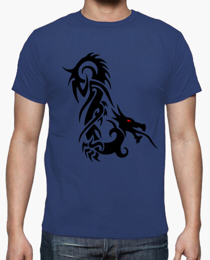 Tee-shirt Tribal Dragon Yeux Rouges