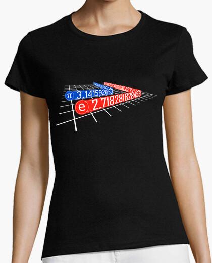 Tee-shirt tron numéro de course pi