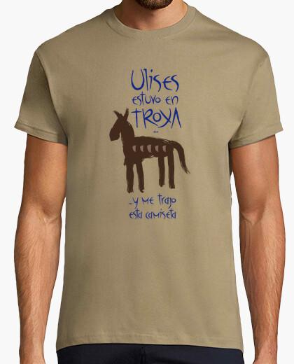 Tee-shirt ulysse était à troie et m'a apporté cette chemise
