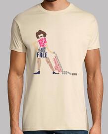 tee-shirt unisexe - je veux rompre