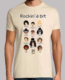 tee-shirt unisexe - rockin un peu