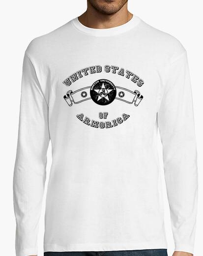 Tee-shirt University - Manche longue homme