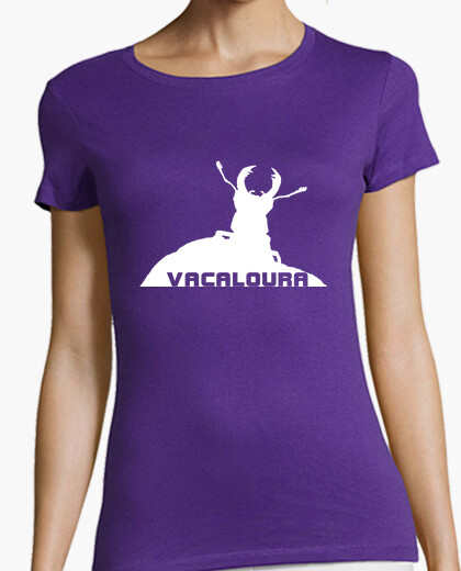 Tee-shirt vacaloura blanc