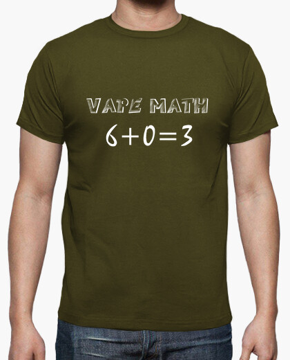 Tee-shirt Vape Math