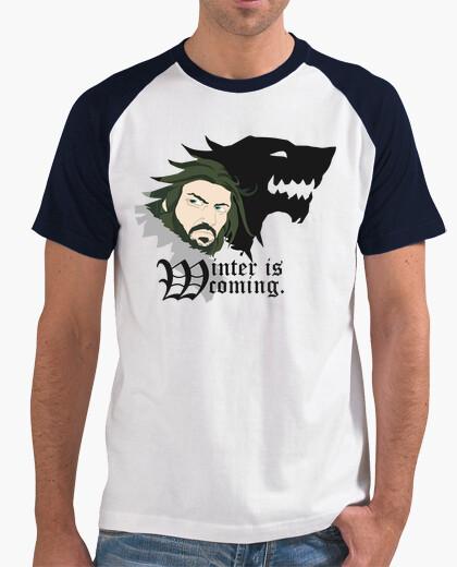 Tee-shirt vente !!! unisexe - l'hiver est coming