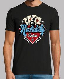 tee-shirt vintage Rocker musique rétro rock and roll USA rockers