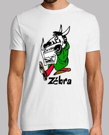 Tee-shirt Zèbre lisant