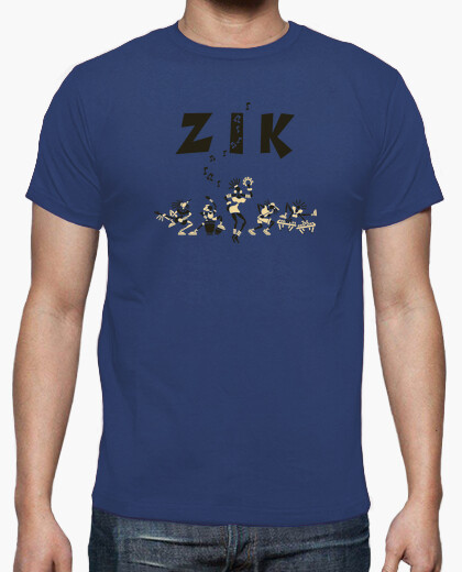 Tee-shirt Zik Band Army by Stef