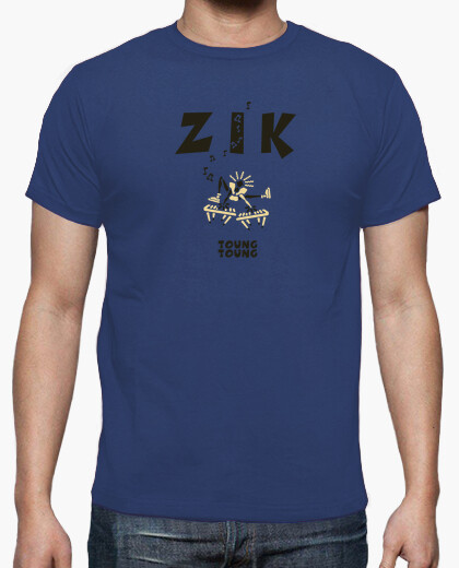 Tee-shirt Zik Clavier army by Stef