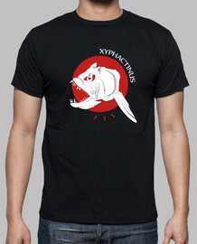 tee shirt - rosso xypha