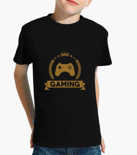 Kinderbekleidung tee shirt aussenseiter - gaming