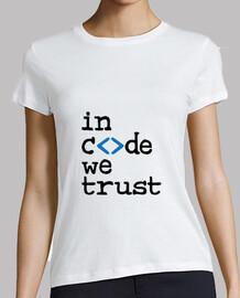 tee shirt aussenseiter: in code , den wir vertrauen