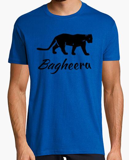 Tee-shirt Tee shirt Bagheera panthère noire