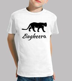 Tee shirt Bagheera panthère noire