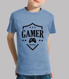 tee shirt bambino gamer - gioco - geek