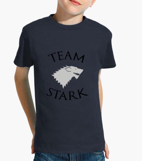 Abbigliamento bambino tee shirt bambino stark squadra - game of thrones