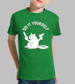 Tee shirt Castor do it yourself