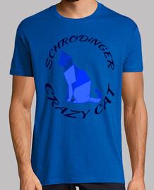 Tee shirt chat Schrodinger cat