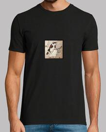 tee shirt chat tatoués