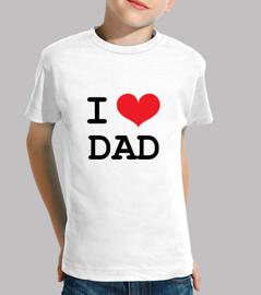 Tee shirt enfant : I Love Dad
