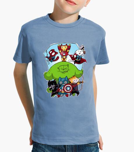 Vêtements enfant Tee shirt enfant, manche courte, céleste