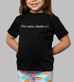 Tee shirt enfant, manche courte, noir