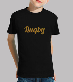 Tee shirt enfant, manche courte, Rugby