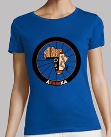 Tee shirt femme, bleu ciel, qualité supérieure
