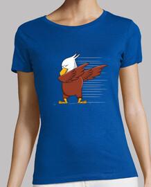 Tee shirt femme, bleu royal, qualité supérieure