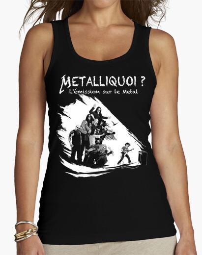 Tee-shirt Tee shirt femme, bretelle, noir