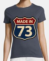 Tee shirt femme, coton bio