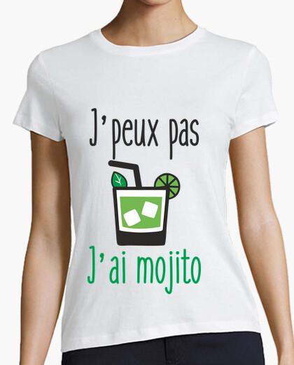Tee-shirt Tee shirt femme j'peux pas j'ai mojito