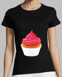 Tee shirt femme Max Black - Cream Filled - 2 broked girls