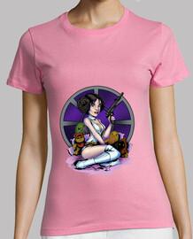Tee shirt femme, rose, qualité supérieure